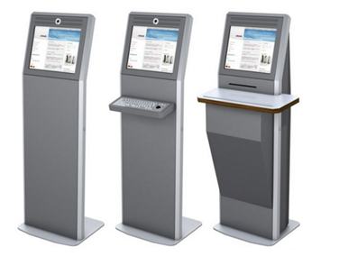 The self-help service terminal and the Kiosk machine