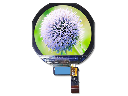 1.22 inch round full view Display